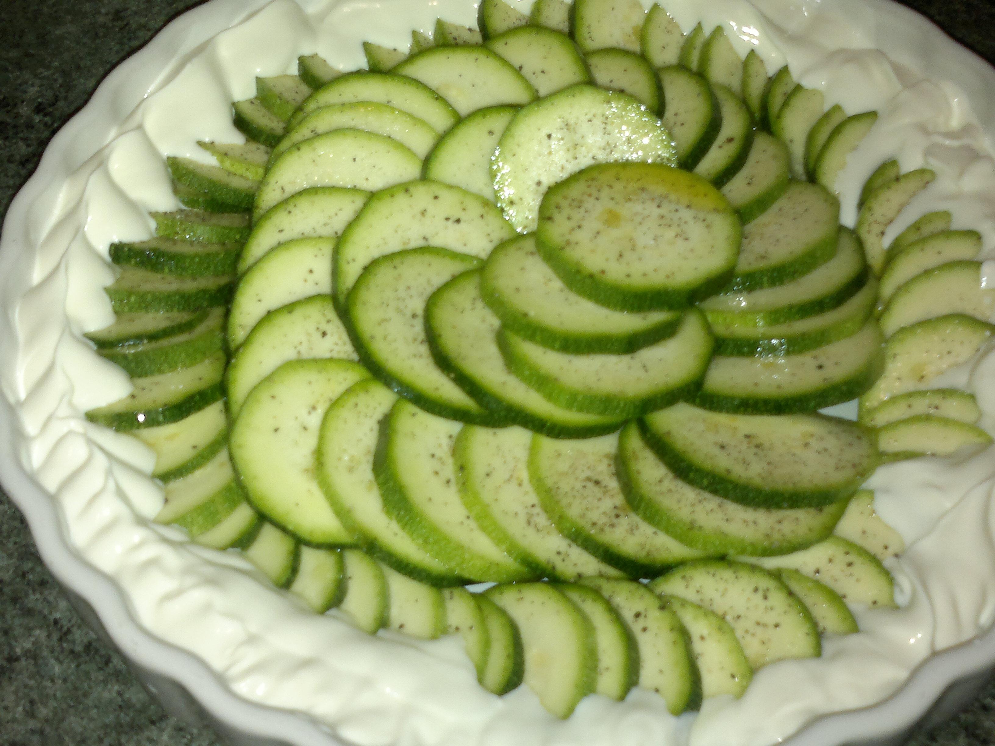 Torta di zucchine io vegetariana - Forno microonde e tradizionale insieme ...