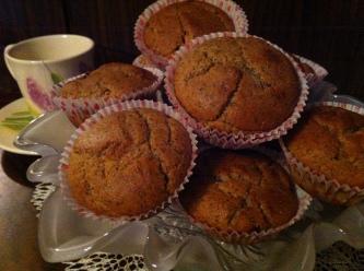 Muffin Saraceno Ricotta e Mirtili rossi