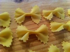 Pasta sfoglia: Farfalle