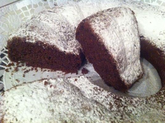 Torta cioccolato e zucchine
