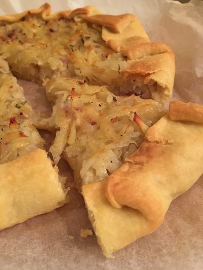Torta di patate e rosmarino